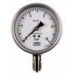 """SUKU Saválló manometer, DN100, 0-4 bar , 1/2"""" alsós"""