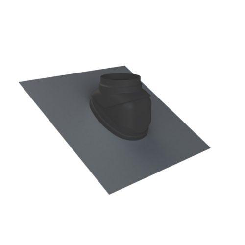 TRICOX ferde tető borítás 100-125 mm fekete
