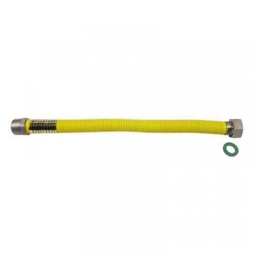"""PEPE gáz nyújtható flexibilis bekötőcső K-B 3/4""""-3/4"""" 100-200 cm"""