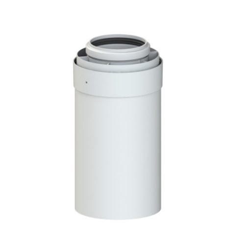 TRICOX PPs/alu cső 60/100 mm, L=500 mm