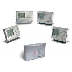 Computherm Q8 RF vezeték nélküli multizónás programozható szobatermosztát