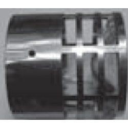 Tricox rozsdamentes végelem csövekhez, 80 mm