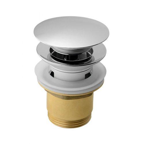 """AQUALINE KLIK-KLAK mosdólefolyó, nagy dugóval, 1""""1/4, 25-45mm, réz/króm (TF7001)"""