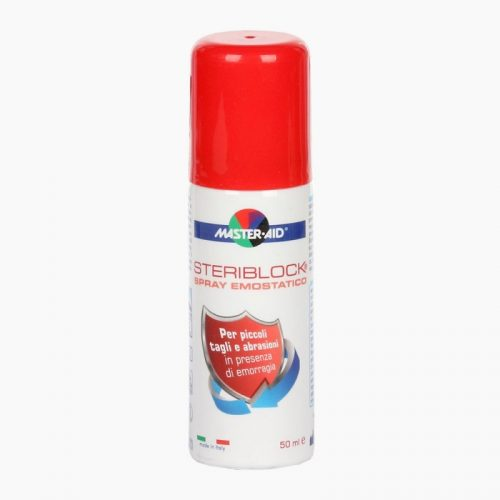 MASTER-AID Steriblock Vérzéscsillapító Spray 50 ml