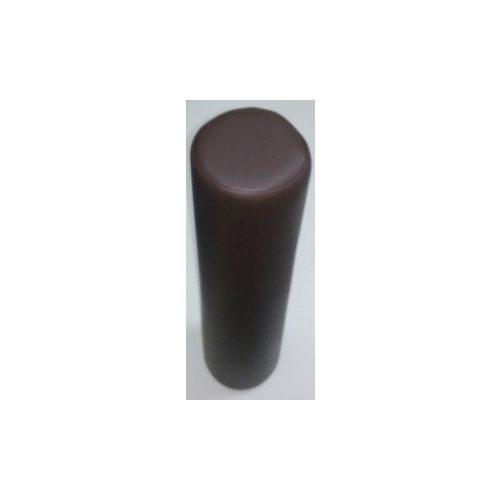 HENGERPÁRNA Kemény Szivacsból 60x15 cm - Sötétbarn