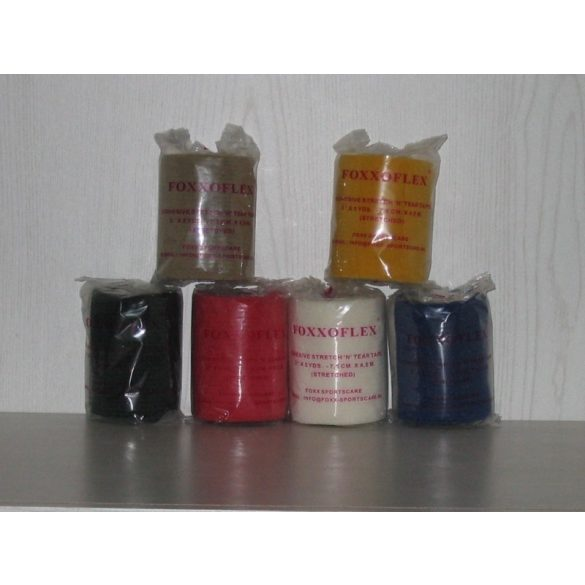FOXXOFLEX 10 cm x 4,5 m Sárga (sport tape alá való