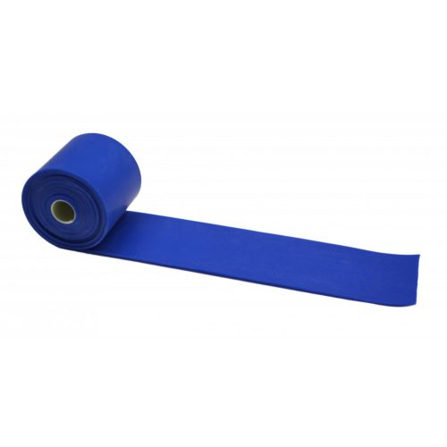 FLOSSBAND Terápiás Gumiszalag 2,13 m x 5 cm 1,3 mm kék