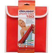 DEUSER Physio Tape Erősítő Gumiszalag 150 zöld-gye