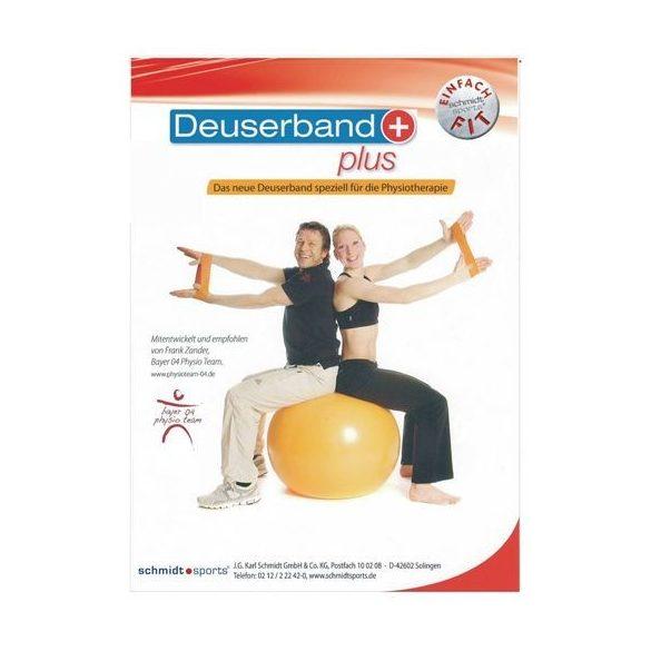 DEUSERBand Plus Erősítő Gumiszíj Erős (6,5 cm szél