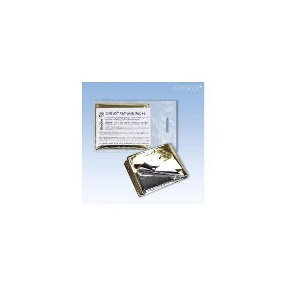 SIRIUS Alu Elsősegély-takaró 160x210 cm*