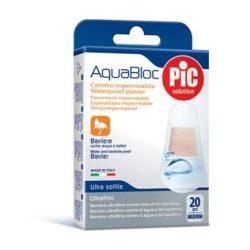 PiC antibakteriális sebtapasz AquaBloc vegyes 20 d