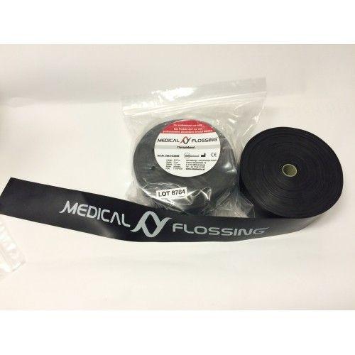 MEDICAL FLOSSING Terápiás Gumiszalag 8,5 m x 5 cm