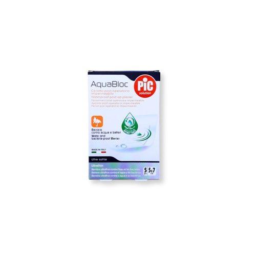PiC antibakteriális sebtapasz Aquabloc 5x7cm 5 db