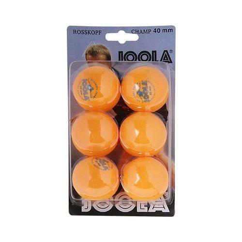 JOOLA Rosskopf Ping Pong Labda Csomag (6db) - Narancssárga