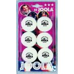 JOOLA Rossi Ping Pong Labda Csomag (6 db) - fehér
