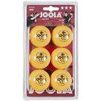 JOOLA Rossi Ping Pong Labda Csomag (6 db) - narancssárga