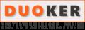 DUVLAN Boxzsák 80 x 40 cm - Fekete*
