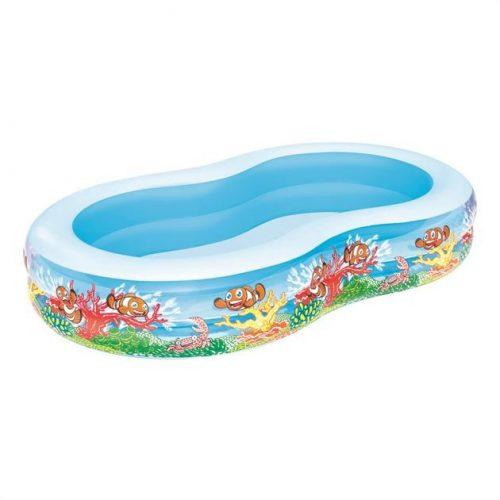 BESTWAY Play Pool Medence 262x157x46 cm