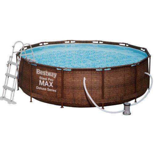 BESTWAY Steel Pool Pro Max 3,66x100 m Medence Szett
