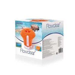 BESTWAY Flowclear Úszó Vegyszeradagoló Hőmérővel