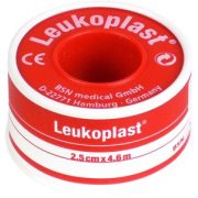 BSN MEDICAL Leukoplast 2,5 cm x 4,6 m (palásttal,