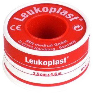 BSN MEDICAL Leukoplast 2,5 cm x 4,6 m (palásttal)