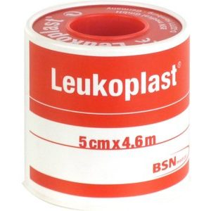 BSN MEDICAL Leukoplast 5 cm x 4,6 m (palásttal)