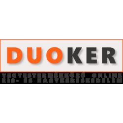 SPARTAN Fekete-Narancs Boxkesztyű 8 oz (1 pár)*
