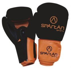 SPARTAN Fekete-Narancs Boxkesztyű 12 oz (1 pár)*