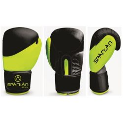 SPARTAN Zöld-Fekete Boxkesztyű 14 oz (1 pár)
