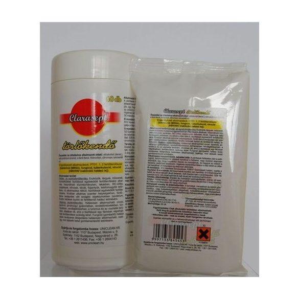 CLARASEPT Fertőtlenítő Hatású Törlőkendő 60 db-os