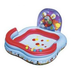 BESTWAY Mickey Play Center 157 cm-s Gyermekmedence