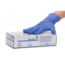HARTMANN Peha-soft Nitrile Fino Gumikesztyű kék M