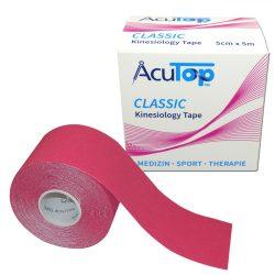 ACUTOP Classic Kineziológiai Tapasz / Szalag 5 cm x 5 m Rózsaszín*