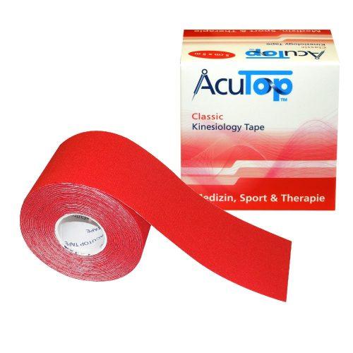 ACUTOP Classic Kineziológiai Szalag / Tapasz 5 cm x 5 m Piros