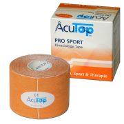 ACUTOP Pro Sport Kineziológiai Tapasz / Szalag 5 cm x 5 m Narancssárga*