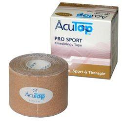 ACUTOP Pro Sport Kineziológiai Szalag / Tapasz 5 cm x 5 m Bézs*