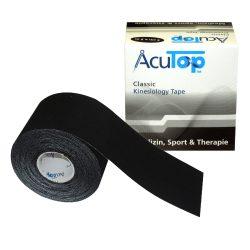 ACUTOP Classic Kineziológiai Szalag / Tapasz 5 cm x 5 m Fekete*