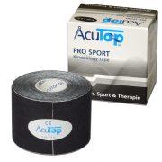 ACUTOP Pro Sport Kineziológiai Tapasz / Szalag 5 cm x 5 m Fekete*
