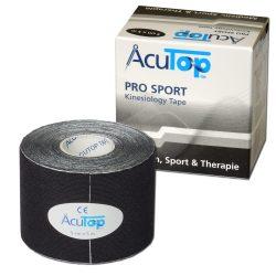 ACUTOP Pro Sport Kineziológiai Tapasz / Szalag 5 cm x 5 m Fekete