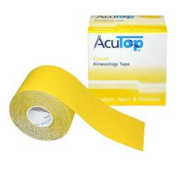 ACUTOP Classic Kineziológiai Szalag / Tapasz 5 cm x 5 m Sárga