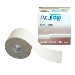 ACUTOP Soft Kineziológiai Szalag / Tapasz 5 cm x 5 m Fehér