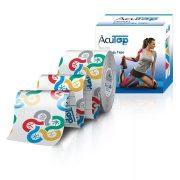 ACUTOP Design Kineziológiai Szalag / Tapasz 5 cm x 5 m Öt Elem