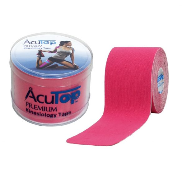 ACUTOP Premium Kineziológiai Tapasz / Szalag 5 cm x 5 m Rózsaszín*