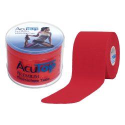 ACUTOP Premium Kineziológiai Szalag / Tapasz 5 cm x 5 m Piros*