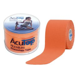 ACUTOP Premium Kineziológiai Tapasz / Szalag 5 cm x 5 m Narancssárga*