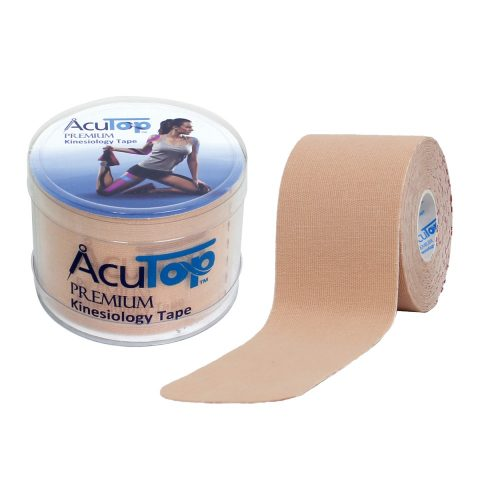 ACUTOP Premium Kineziológiai Szalag / Tapasz 5 cm x 5 m Bézs