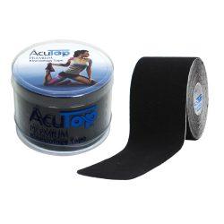 ACUTOP Premium Kineziológiai Szalag / Tapasz 5 cm x 5 m Fekete*