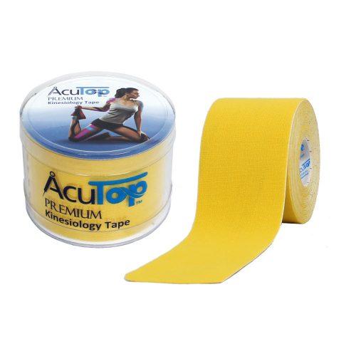 ACUTOP Premium Kineziológiai Szalag / Tapasz 5 cm x 5 m Sárga