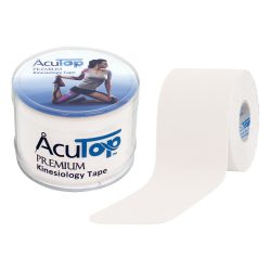 ACUTOP Premium Kineziológiai Tapasz / Szalag 5 cm x 5 m Fehér*